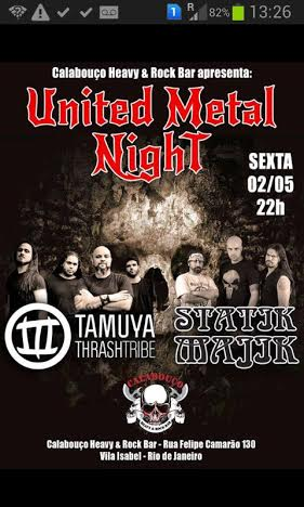 united metal night