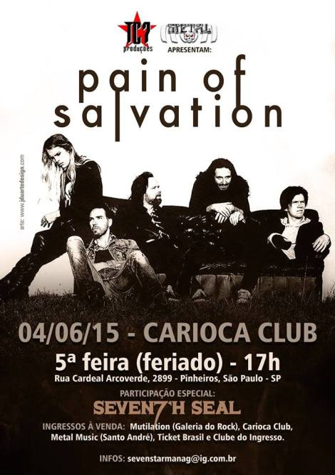 PAIN OF SALVATION CARTAZ